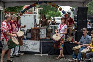 One Tribe performing at Artsplosure in Raleigh NC
